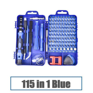 115 in 1 Precision Screwdriver Set Repair Tool Kit