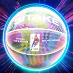Glowing Reflective Holographic Basketball