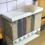 Wall Mounted Cereal Rice Dispenser