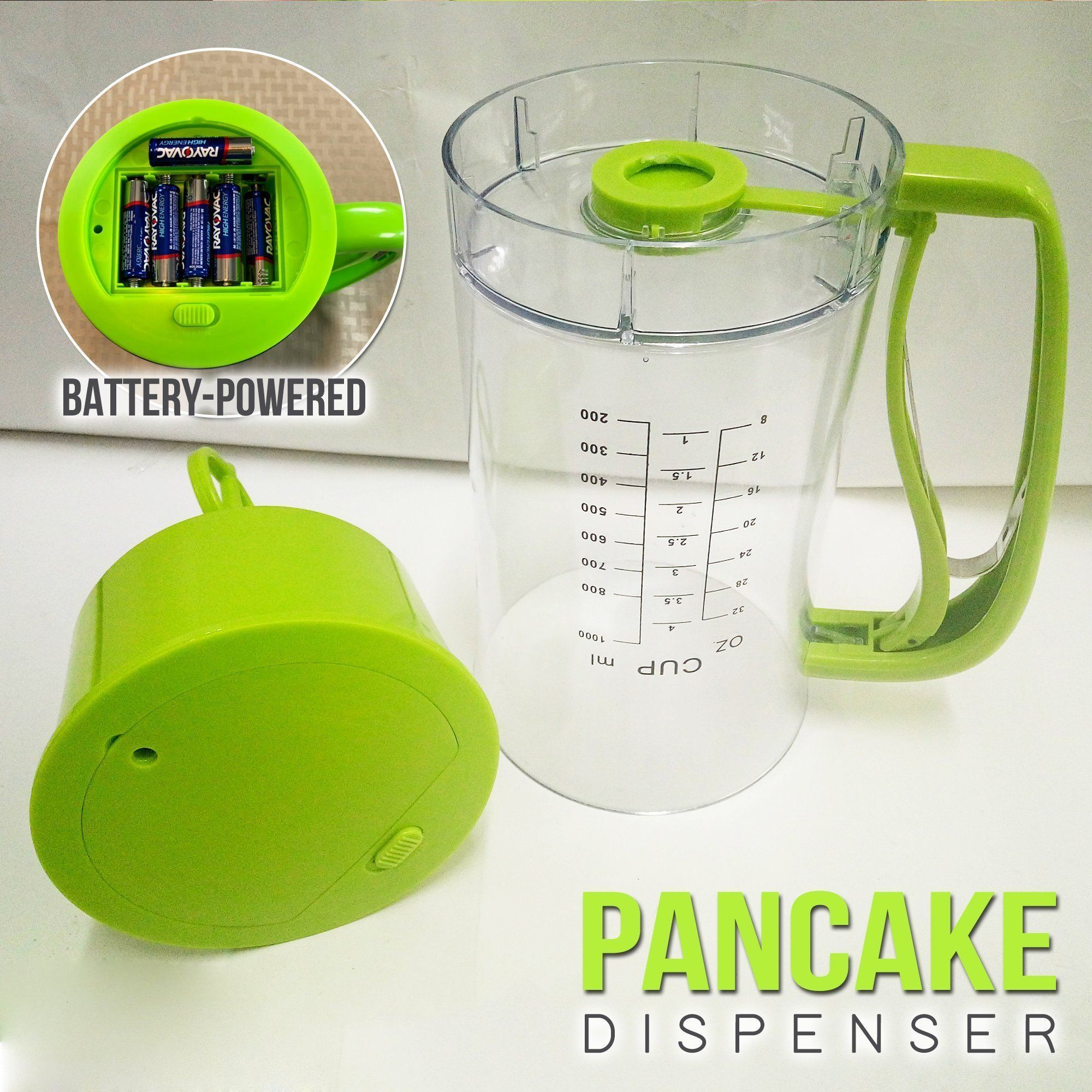 Electric Pancake Batter Dispenser