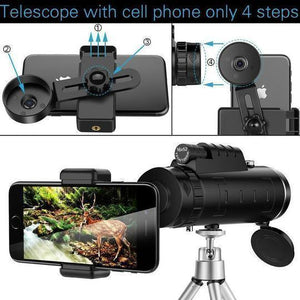 16X52 High Definition Monocular Telescope