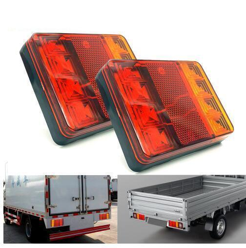 Car Truck LED Rear Tail Light Warning Lights