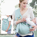 Baby Carrier Wrap with Ring Sling