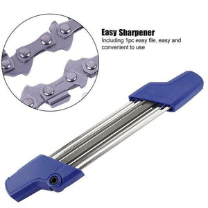 2-in-1 Handheld Chainsaw Sharpener File