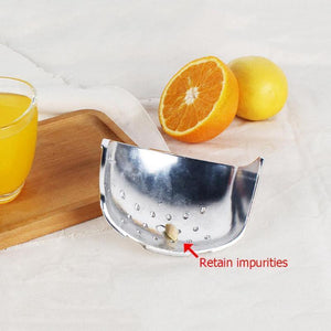 Stainless Steel Manual Lemon Squeezer