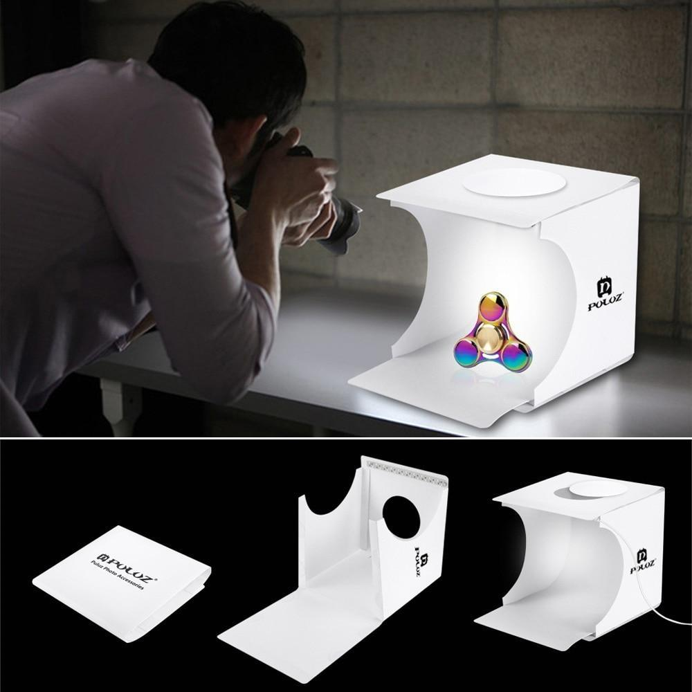 Dual Light Portable Photo Box