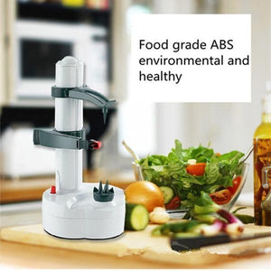 Stainless Steel Electric Peeler for Fruits & Vegetables