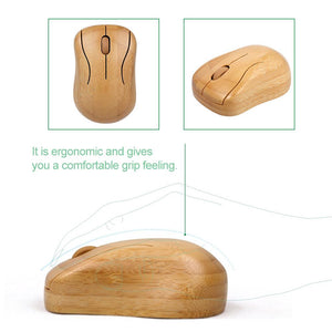 Eco Friendly Bamboo Keyboard and Mouse