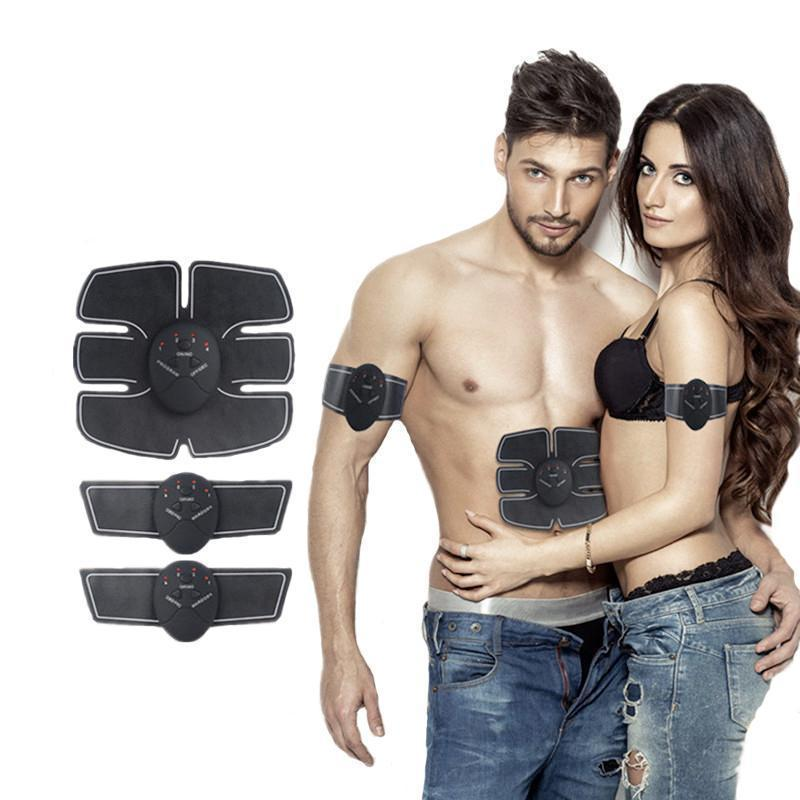 Ultimate ABS Stimulator, EMS Remote Control Abdominal Muscle Trainer Smart Body Building Fitness