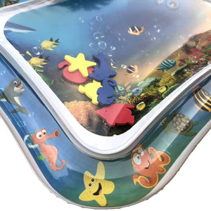 Baby Inflatable Aquarium Water Mat Toy