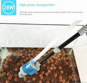 Fish Tank Gravel Cleaner - Aquarium Sand Electric Vacuum