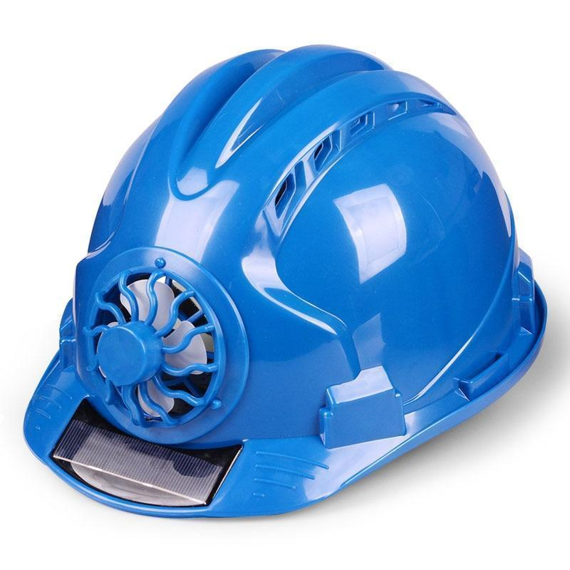 Solar Construction Hard Hat With Fan
