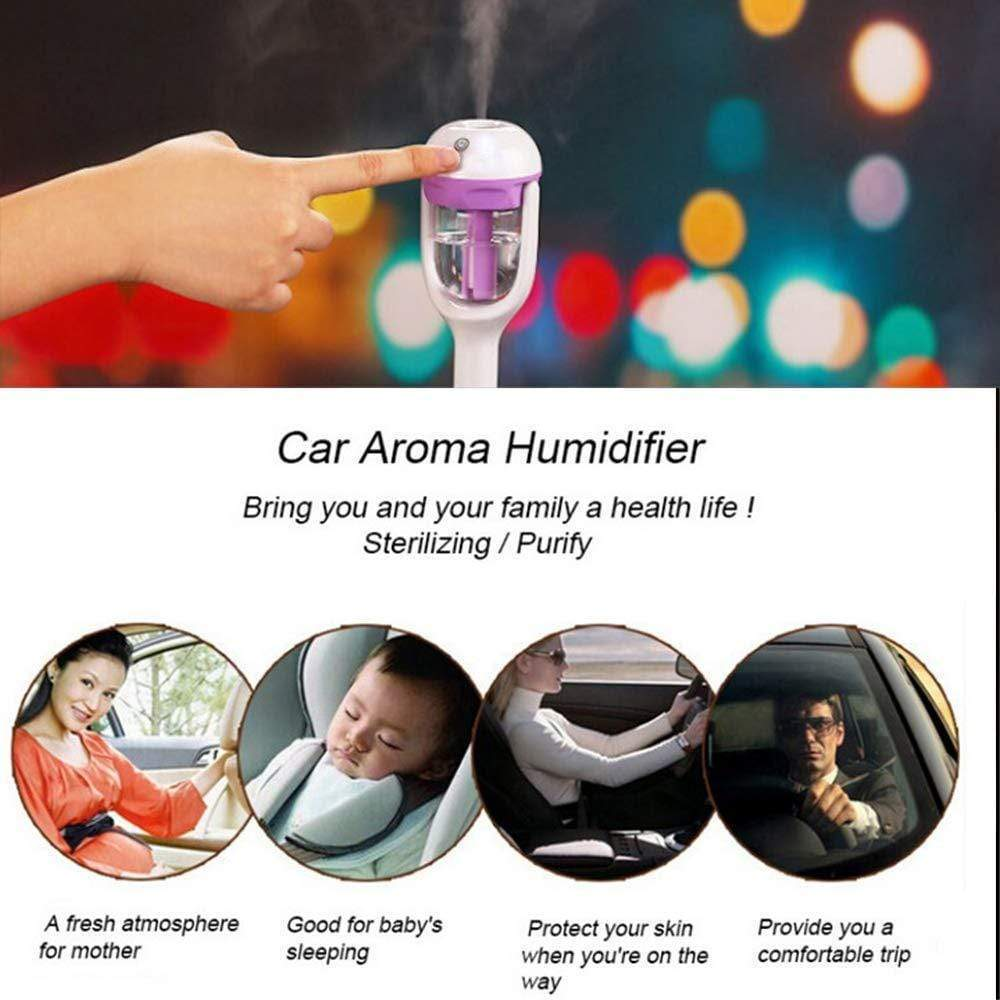 Mini Car Humidifier and Aromatherapy Diffuser