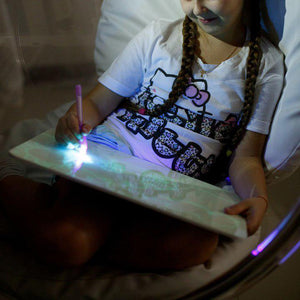 LED Light Drawing Board for Kids