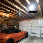 Adjustable LED Deformable Garage Lamp