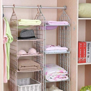 Wardrobe Multilayer Hanging Storage Rack