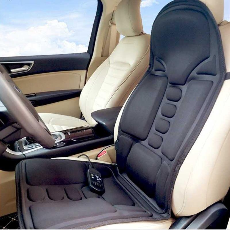 Electric 9 Motor Heating Vibrating Massage Car Seat Cushion
