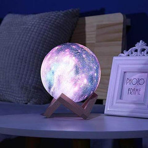 3D Galaxy Lamp with Stand