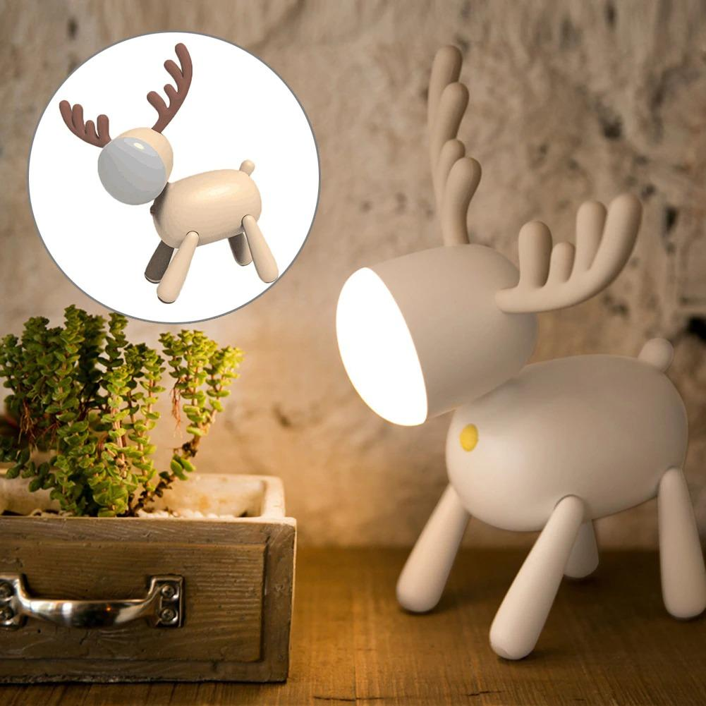 Rechargeable Elk Table Lamp