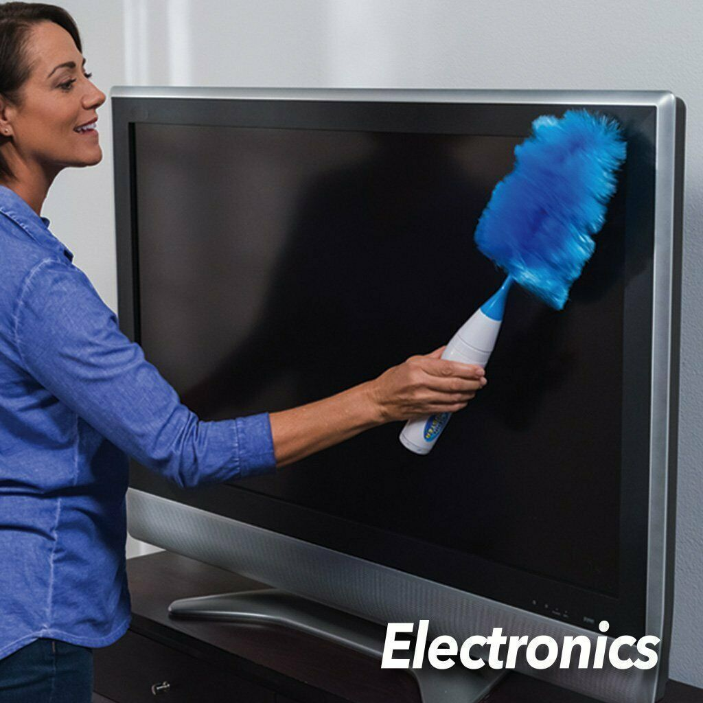 Portable Spin Electric Feather Duster