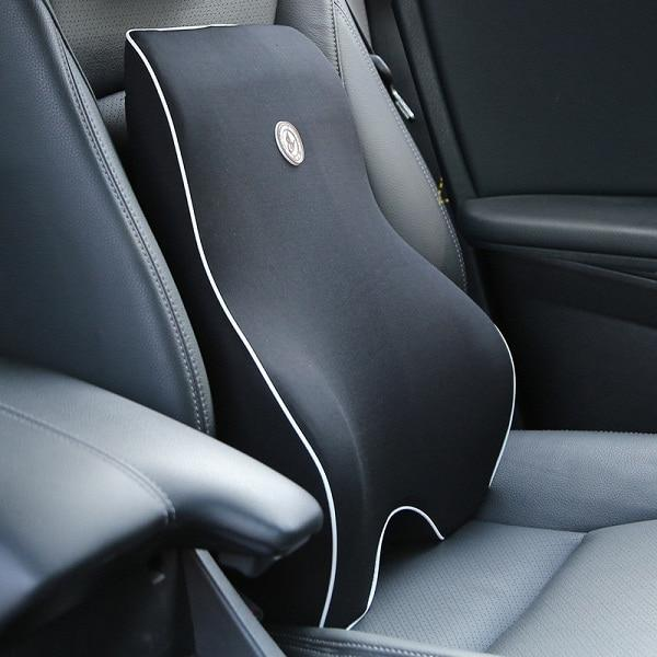 Car Lumbar Support with Head Rest Pillow