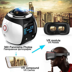 Panoramic 360 Action Video Camera