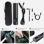 Wireless Portable Electric Air Pump Tire Inflator
