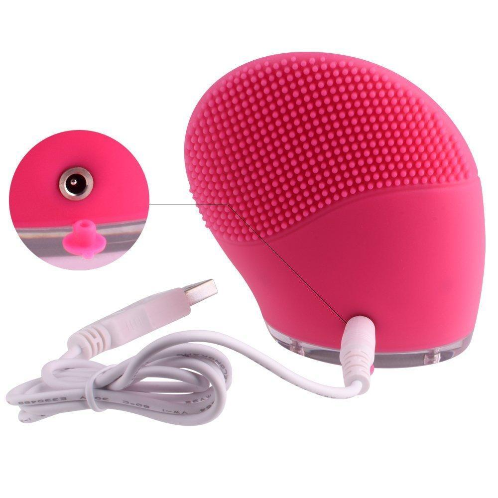 Waterproof Silicone Facial Cleansing Brush