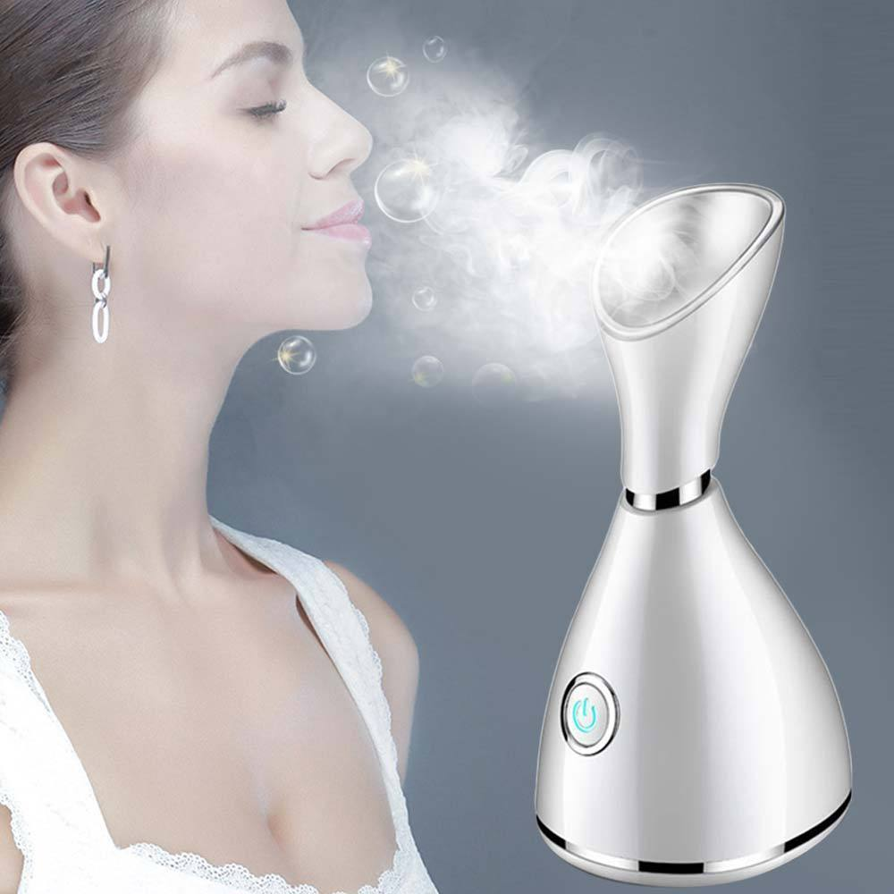 Face Steamer Facial Ionic Spa Steam Humidifier Inhaler Machine