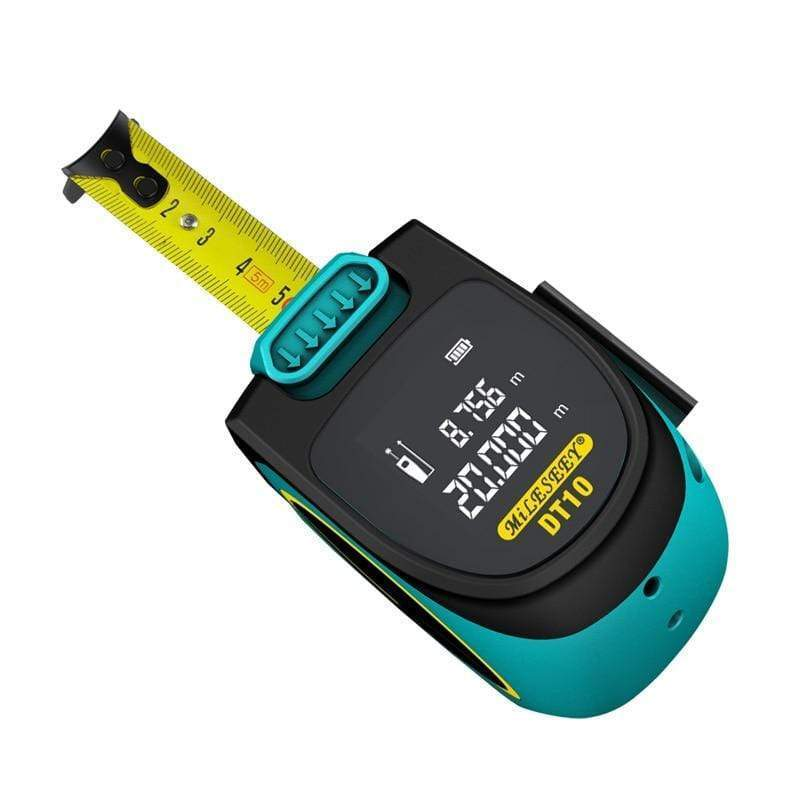 2 In 1 Laser Tape Measure Tool Electronic Distance