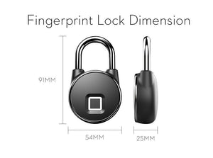 Smart Anti Theft Fingerprint Padlock