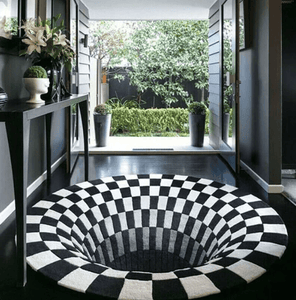 Optical Illusion Rug - A 3D Carpet