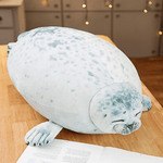 Bouncy Chubby Seal Pillow Super Soft Cushion