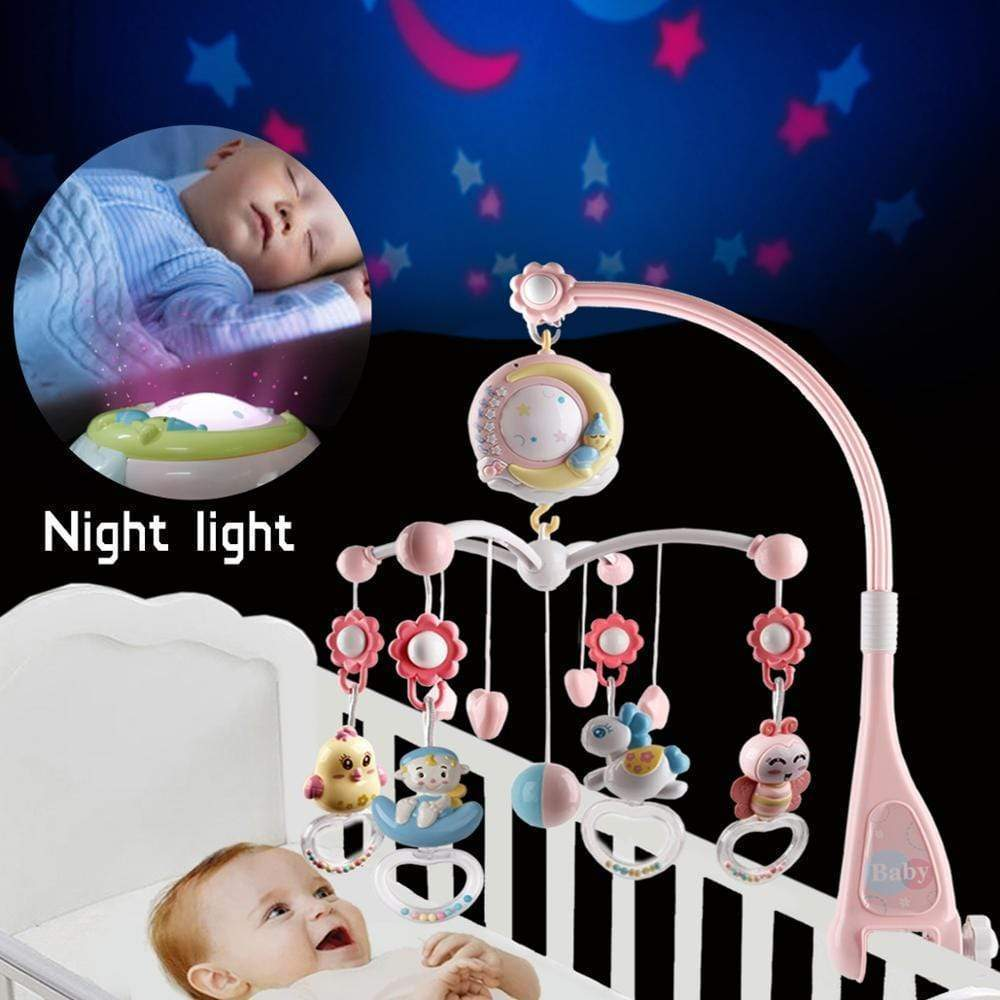 Musical Mobile Baby Rattles for Crib