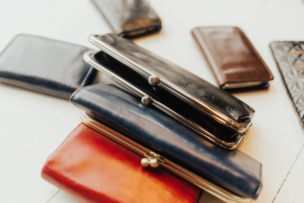 Genuine hobo leather wallets
