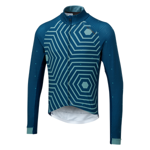 ALTURA ICON LONG SLEEVE JERSEY - HEX-REPEAT - ORBIT Cycling