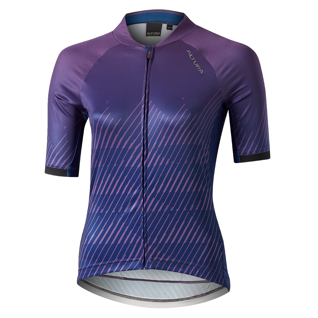 ALTURA WOMENS ICON SHORT SLEEVE CYCLING JERSEY - WAVE - ORBIT Cycling