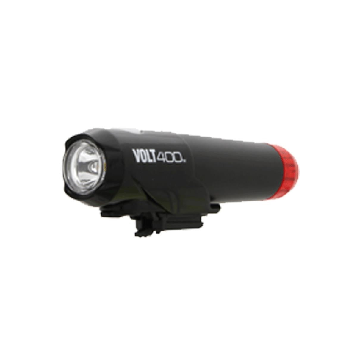 CATEYE VOLT 400 DUPLEX FRONT/REAR HELMET USB RECHARGEABLE LIGHT - ORBIT Cycling