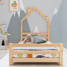 Juni Pine Kids Style Single Bed Frame 3ft
