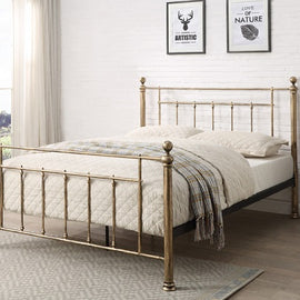 Harpenden Brass Double Bed
