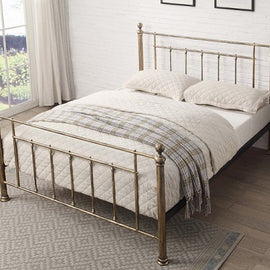 Harpenden Brass King Bed