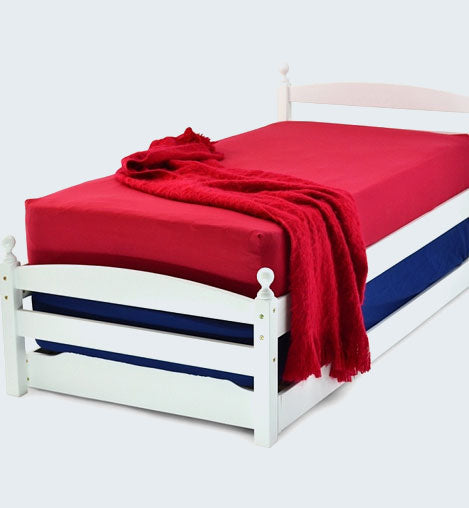 PALERMO GUEST BED - WHITE