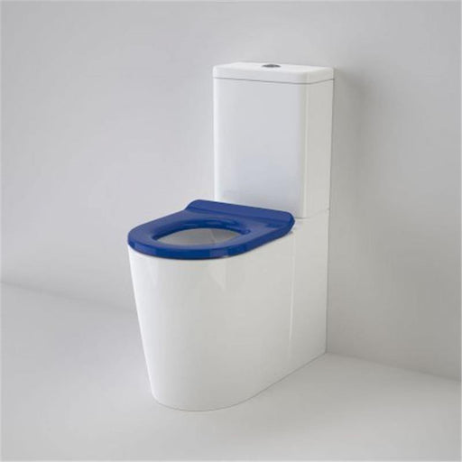 CAROMA-Caroma Liano Cleanflush  Esay Height Wall Faced Toilet Suite - Brand_Caroma, Colour_Gloss White, Flushing Technology_Rimless Flushing, Pan Trap Type_S & P Trap, Toilet Type_Ambulant & Care Toilet, Toilet Type_Back To Wall Toilet, Water Inlet Position_Back Inlet-Ideal Bathroom Centre