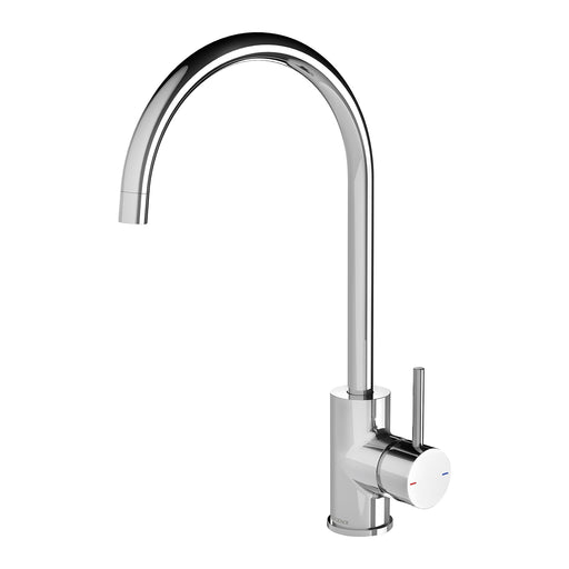 Phoenix Pina Sink Mixer 200mm Gooseneck - Idealbathroomcentre