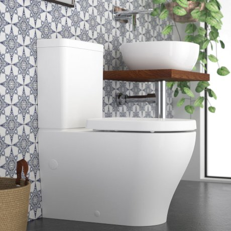 Caroma Luna Wall Faced Toilet