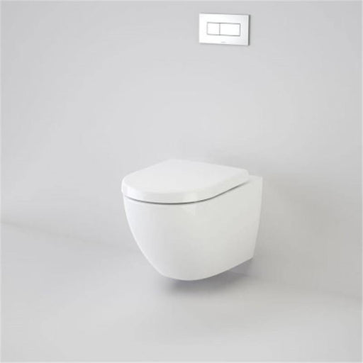CAROMA-Caroma Urbane Wall Hung Invisi Series II Toilet Suite - Brand_Caroma, Colour_Gloss White, Flushing Technology_Boxrim Flushing, Pan Trap Type_P Trap, Toilet Type_Concealed Wall Face Toilet-Ideal Bathroom Centre