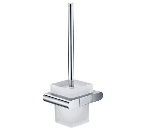 Vogue Oval Toilet Brush & Holder - Idealbathroomcentre