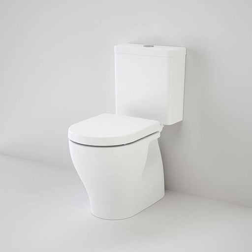 CAROMA-Caroma Luna Cleanflush® Close Coupled Toilet Suite - Brand_Caroma, Colour_Gloss White, Flushing Technology_Rimless Flushing, Pan Trap Type_S & P Trap, Toilet Type_Close Coupled Toilet, Water Inlet Position_Back Inlet, Water Inlet Position_Bottom Inlet-Ideal Bathroom Centre