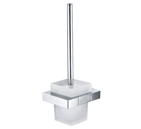 Vogue Square Toilet Brush & Holder - Idealbathroomcentre