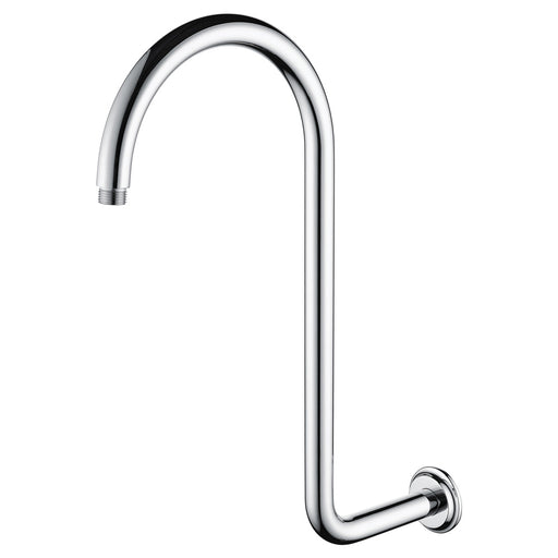 Fienza Classical  Swan-Neck Fixed Wall Arm - Idealbathroomcentre